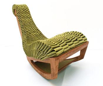 Кресло ручного плетения