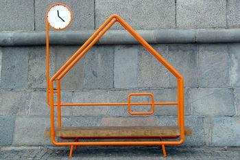 Позитивные скамейки для города