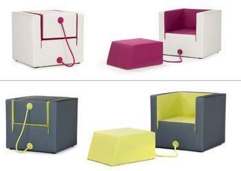 Кресло «в кубе»