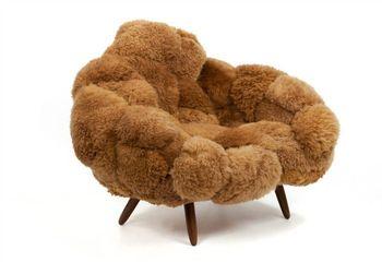 Дубленка для кресла