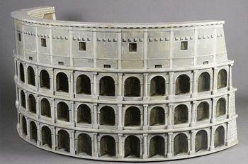 Диван в виде герба Рима