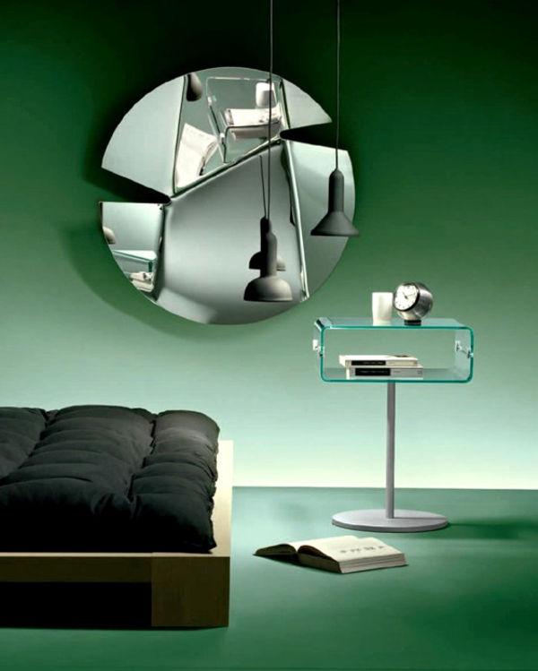 стеклянный интерьер