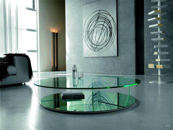 Стеклянная мебель – многогранность в интерьере