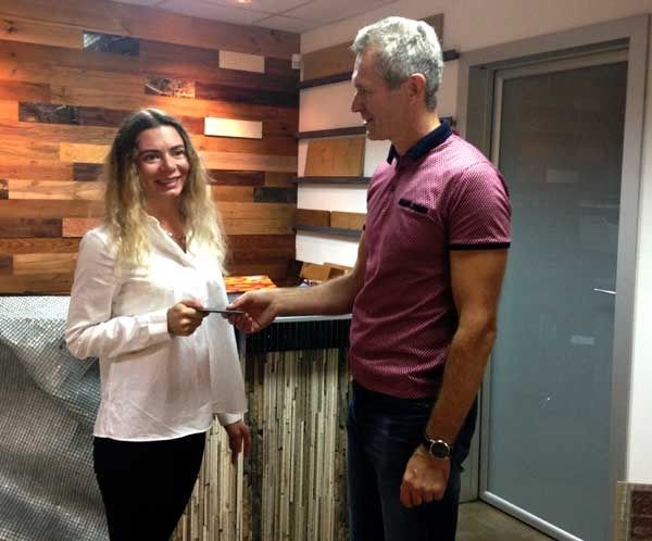 Валентина Нагорная — победитель от компании «Студия плитки»