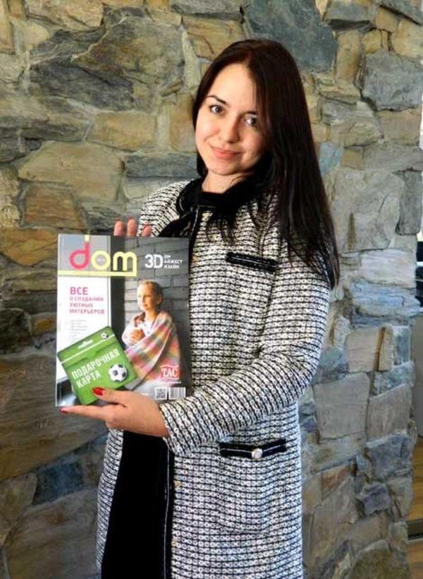 Виктория Кудрявцева — победитель от компании «Паркет Пол»