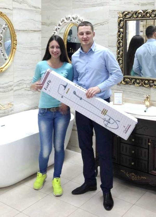 Кристина Котова — победительница от компании «ВаннаЦентр»