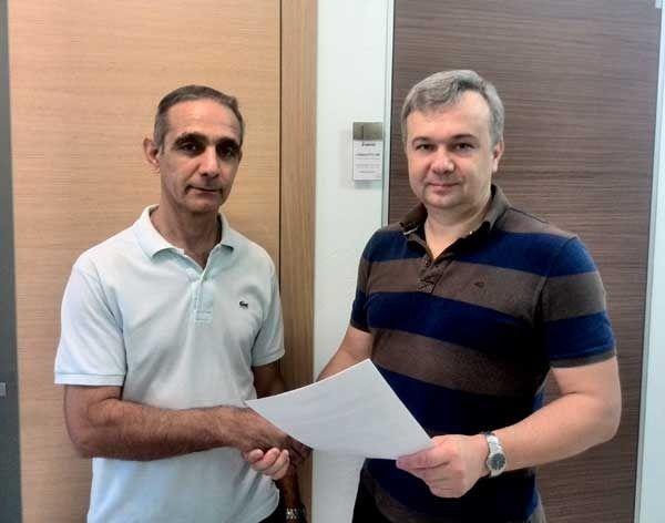 Норик Овсепян — победитель от компании «Двери Италии»