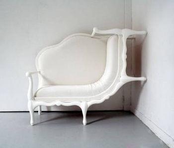 Настенный диван